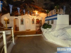 small church Milatos Cave