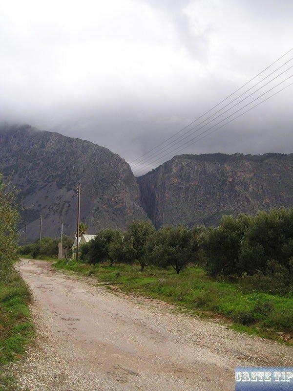 Ha gorge in winter