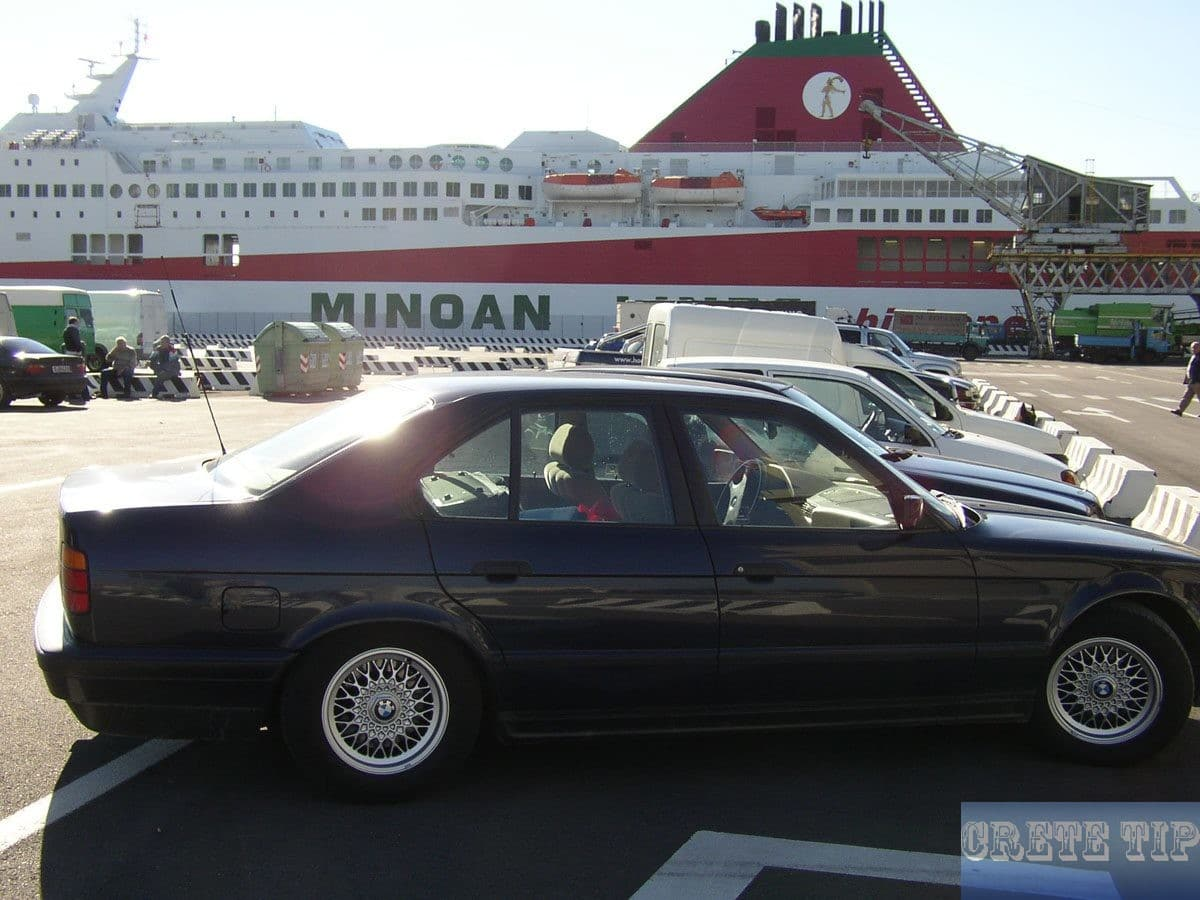 car ferry at Venice