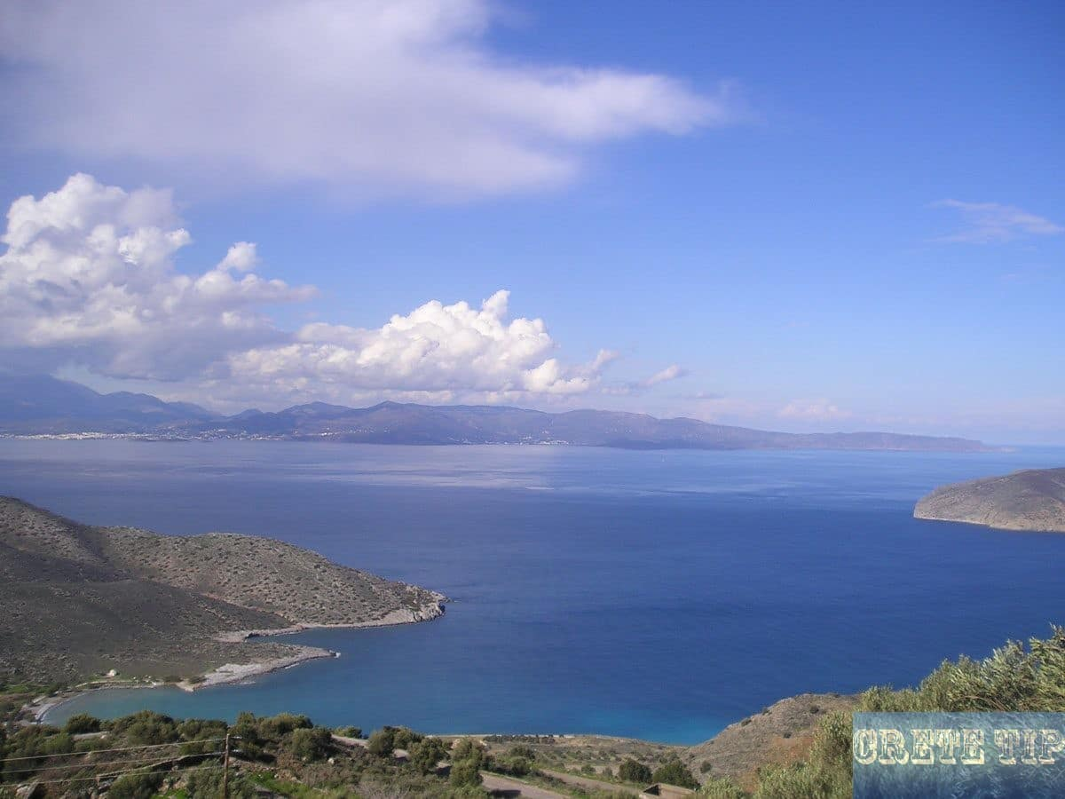 Fantastic view from the road from Agios Nikolaos to Sitia
