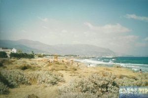 Tropical Beach of Malia