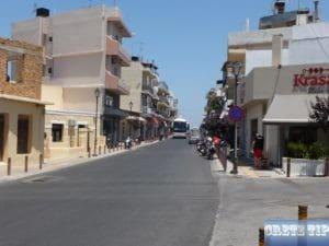 Venizelou road Malia