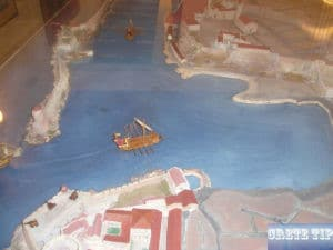 Diorama from the port of Chania