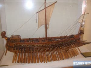 Model of a Trireme.