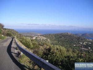 View of the Gulf of Mirabello