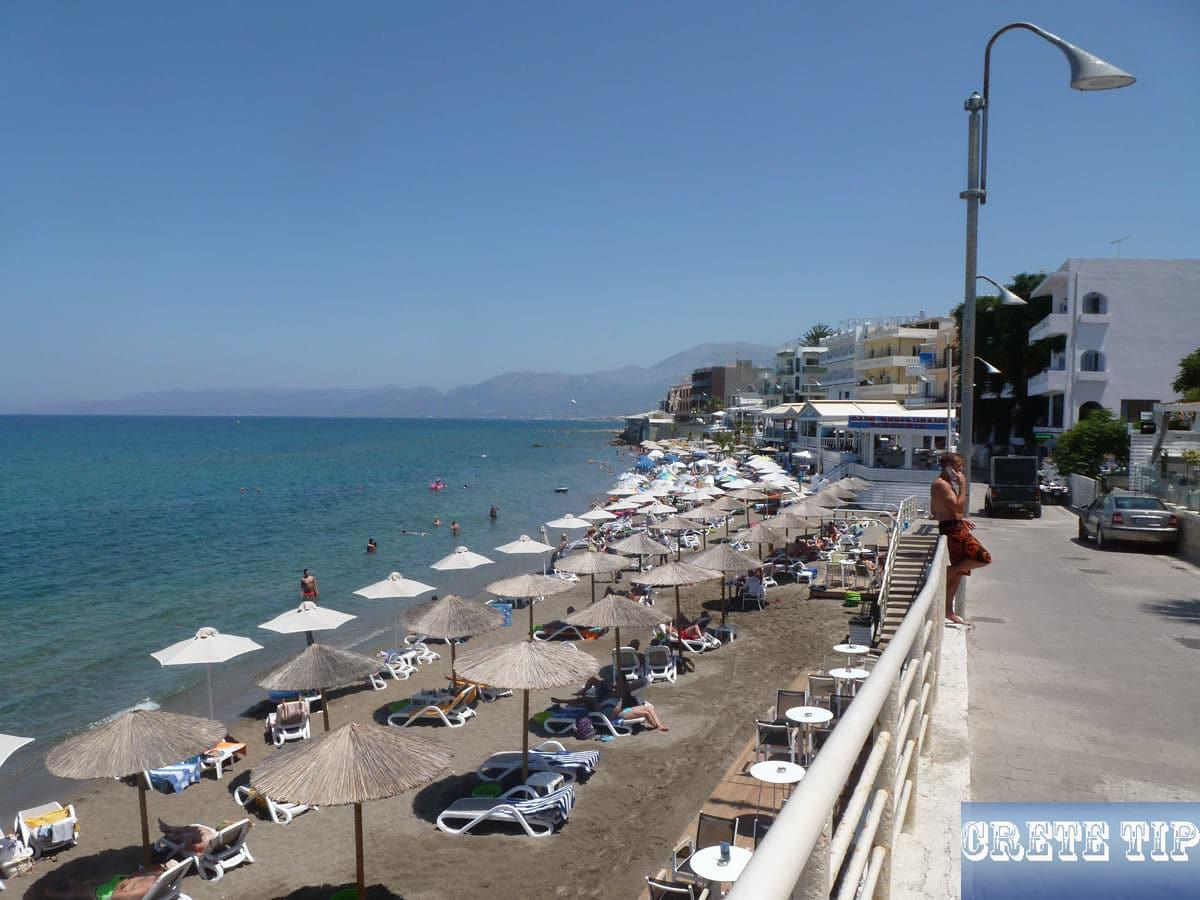 esplanade of Hersonisos