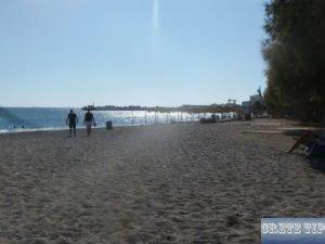 City beach of Ierapetra