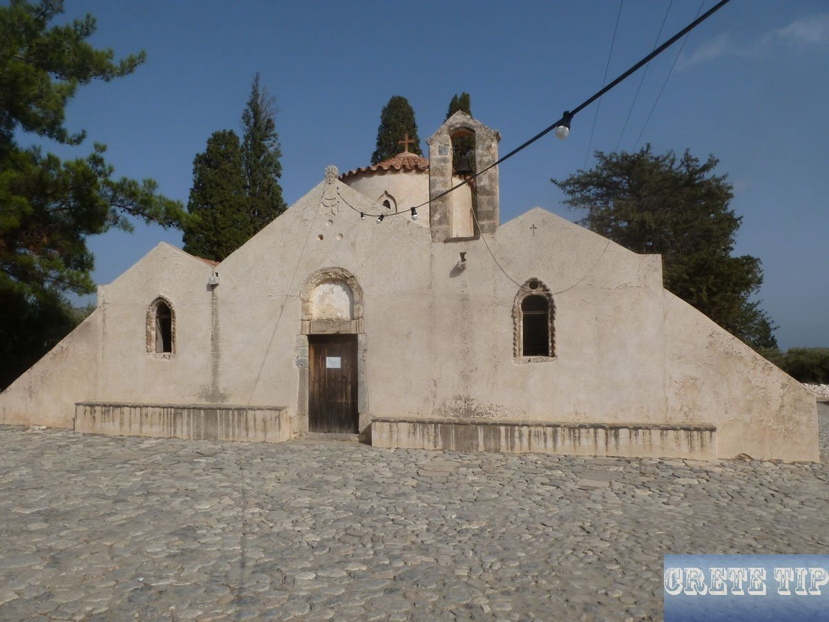 Panayia Kera church at Kritsa.