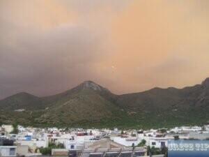 Fires near Elounda