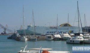 Car ferry of ANEK Lines