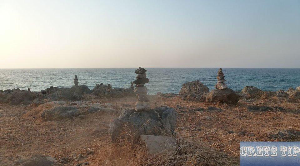 The sea off Crete