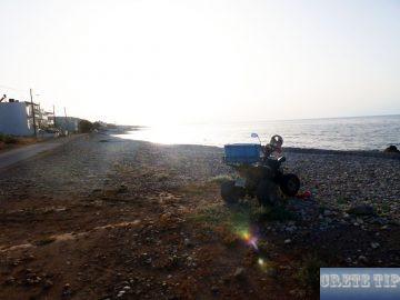 pebble beach of Milatos