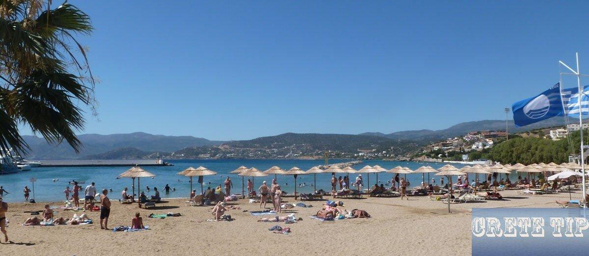 beach in Aghios Nikolaos