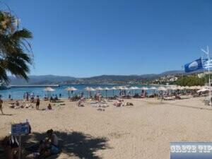 public beach in Aghios Nikolaos