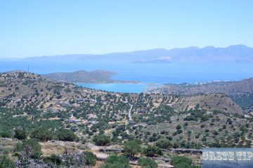View of the Gulf of Mirabello and Elounda