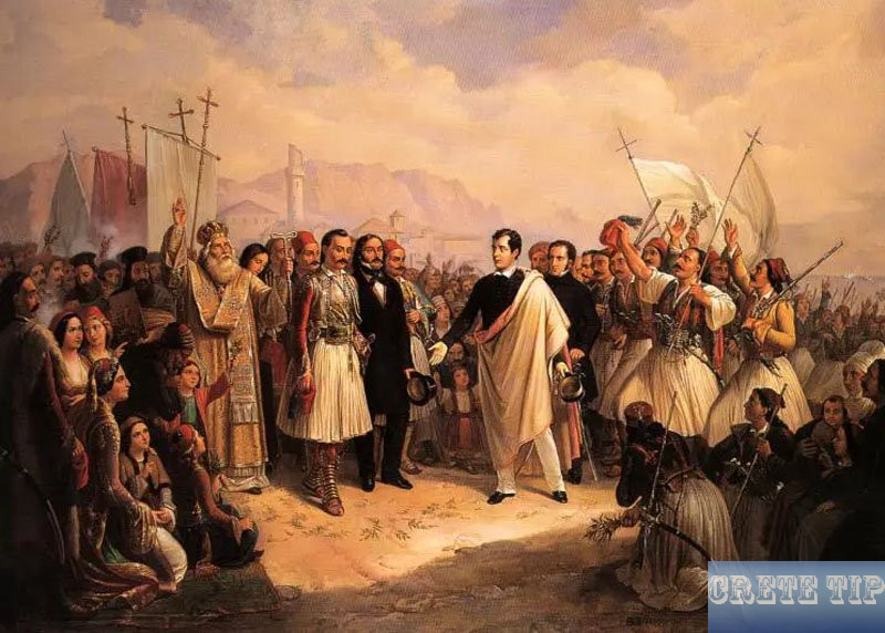 philhellene Lord Byron in Missilunghi